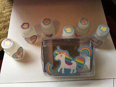 6 Pc Unicorn Bubble Set Party Favor. Also Available Complete Party Set. Discount
