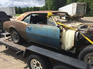 1967 Camaro RS Oklahoma project