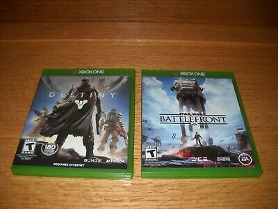 XBox One Star Wars Battlefront and Destiny