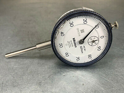 Mitutoyo 2952s Dial Indicator .01mm Resolution Metric Cal. Due 420
