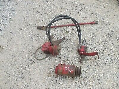 Massey Harris 44 Mh Tractor Charlynn Complete Power Steering Assembly Shaft