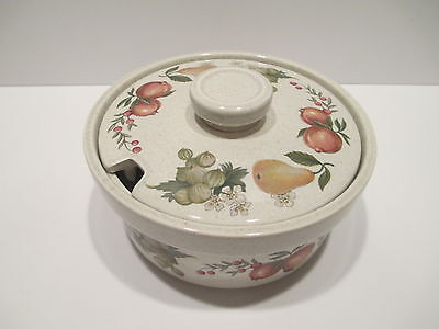 Vintage Wedgwood QUINCE Oven-To-Table Covered Sugar Bowl