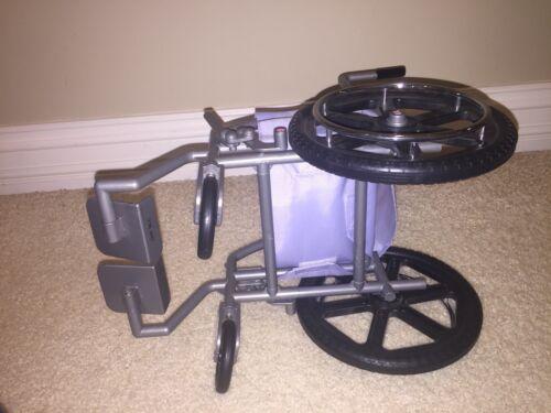 American Girl Purple Wheel Chair  - $12.99