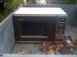 Lf right old big microwave