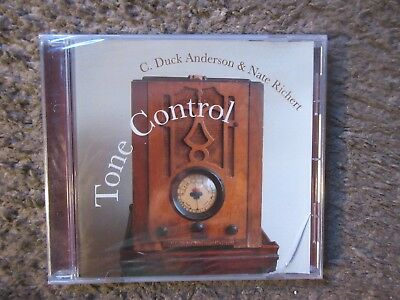 C  Duck Anderson   Nate Richert  Tone Control  2004 Indie Release Still Sealed