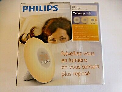 Philips SmartSleep HF3500/60 Wake-Up Light Therapy Alarm Clock NEW OPEN (BB-18)