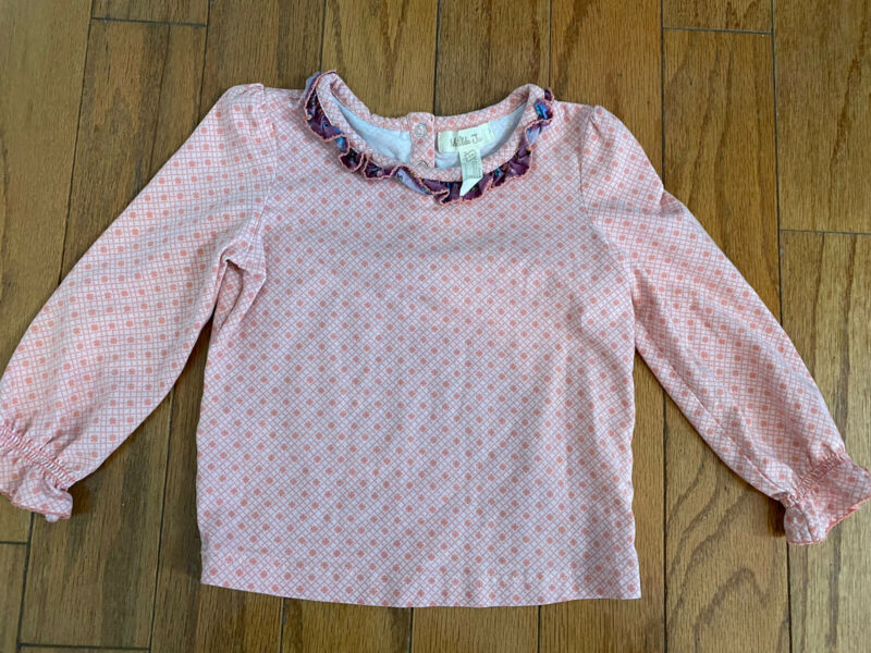 Matilda Jane Size 18 To 24 Months Peach Longsleeve Top