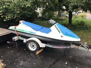 Sea-doo gt 3 places 1990 et remorque