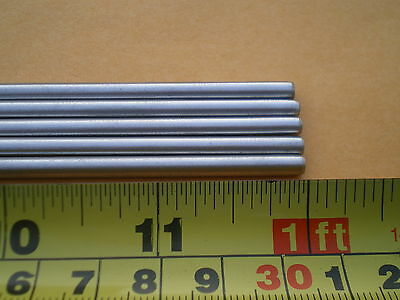 3 Pcs. Stainless Steel Round Rod 302 532 .156 4mm. X 12 Long
