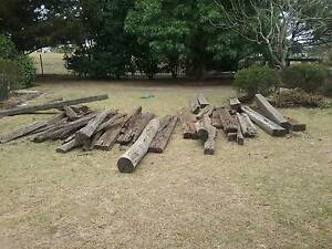 railway sleepers bulk lot Bargo Wollondilly Area Preview