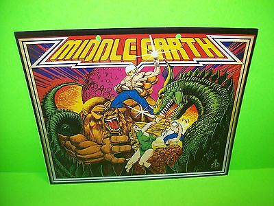 Atari MIDDLE EARTH Lowen-Automaten German Original 1978 Pinball Machine Flyer