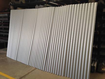 "Colorbond Corrugated sheets. ""Factory Seconds."""