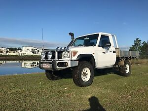 2008 79series Toyota LandCruiser Ute Hope Island Gold Coast North Preview