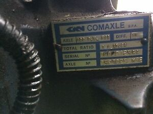 Comaxle front axle 4 wheel drive Wanted
