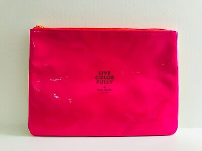 New KATE SPADE Live Colorfully Cosmetic Bag
