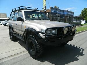 1991 Toyota Land Cruiser GXL (4x4) Williamstown North Hobsons Bay Area Preview