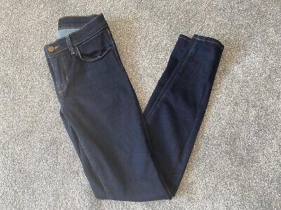 J Brand Dark Blue Super Starless Skinny Jeans W26 L30 New