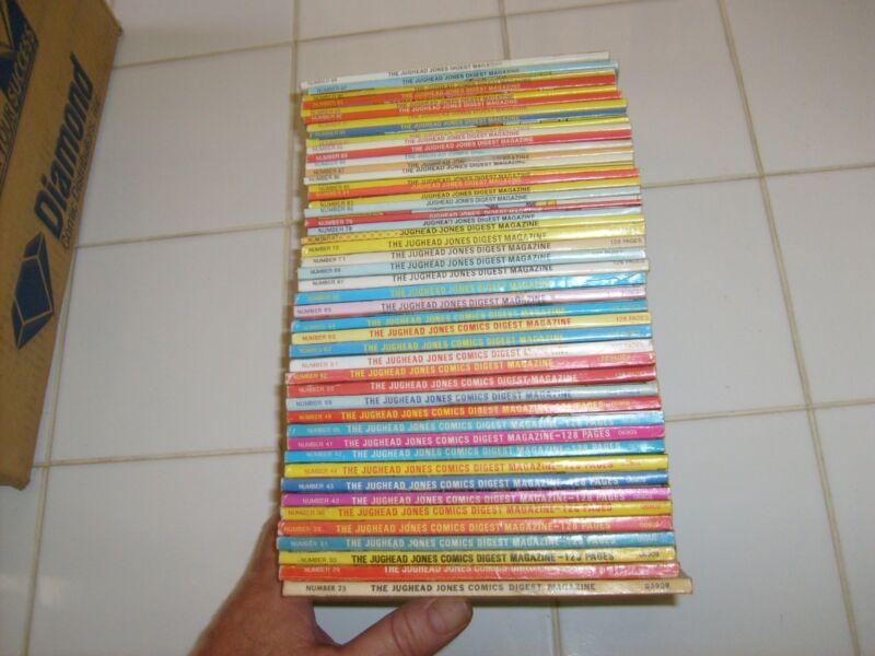 THE JUGHEAD JONES COMICS DIGEST MAGAZINE: 46 ISSUES.. archie