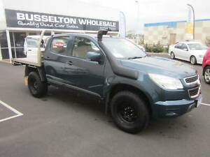 2015 Holden Colorado RG 2.8TD 4x4 Dual Cab Tray Top West Busselton Busselton Area Preview