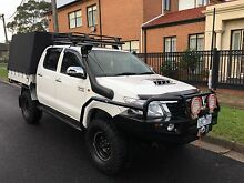 Toyota hilux SR5 2011 tray turbo diesel manual Coburg Moreland Area Preview