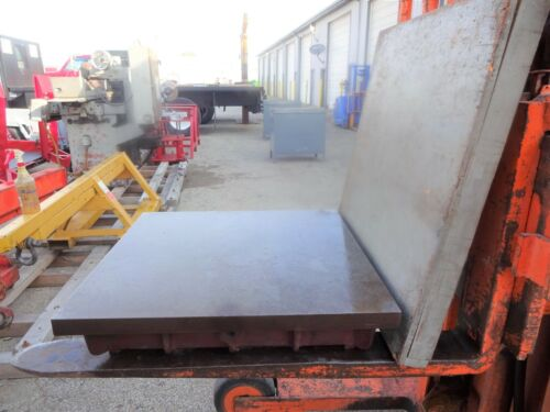 24 x 24 Cast Iron Surface Plate With Cover