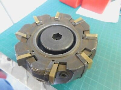 Sumitomo 4-12 Indexable Insert Fly Cutter Shell Mill With 25 Inserts