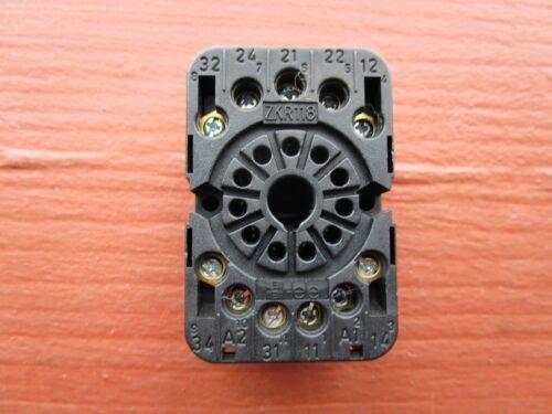 Elesta ZKR118 Relay Base Socket 11-Pin