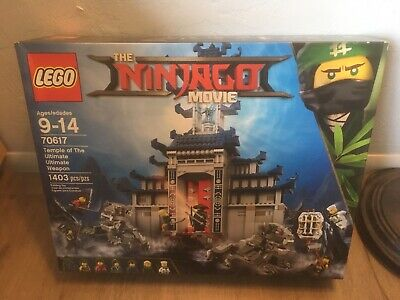LEGO 70617 Ninjago Movie Temple of The Ultimate Ultimate Weapon New Sealed Box