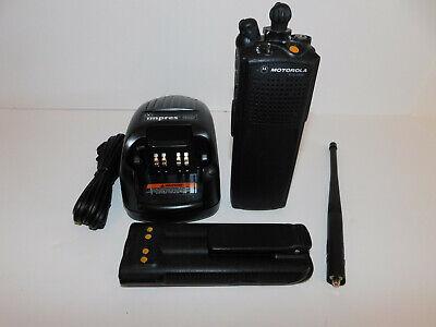 Motorola Xts5000 Vhf 136-174mhz P25 Digital Encrypted 8 Algo Portable Radio Aes