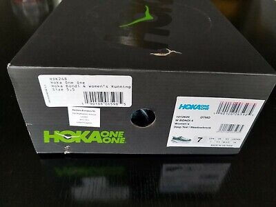 Hoka One One Bondi 4 Womans US 7/ EUR 38.5 Retail $170 * BRAND NEW in BOX!