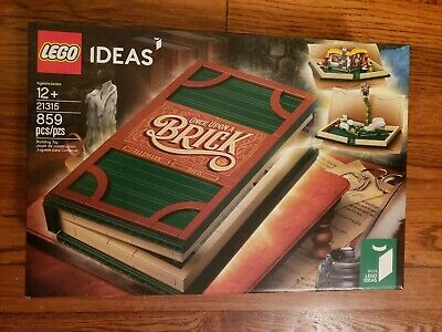 LEGO Ideas 21315 Pop-up Book 859 Pieces Building Set Brand New Sealed