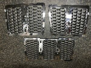 Jeep grand cherokee 2014+ chrome grill insert