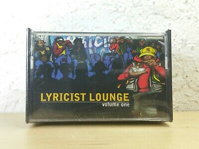 rap cassette tape Lyricist lounge vol.1 rawkus 1998 underground hip hop krs one