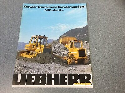 Liebherr Crawler Tractors And Crawler Loaders 2 Pages 1987