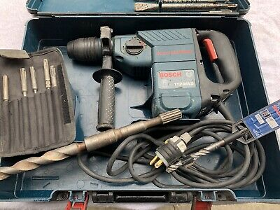 Bosch 11236vs Rotary Hammer Drill In Case With Bits