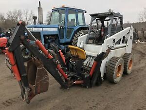 BACKHOE ATTACHMENT for skidsteer
