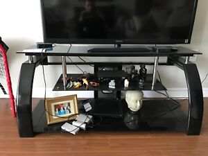 "TV stand for sale: holds 56"" TV"