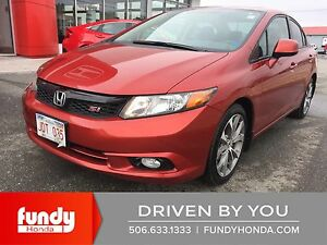 2012 Honda Civic Si ONE OWNER- LOCAL TRADE- DEALER SERVICED
