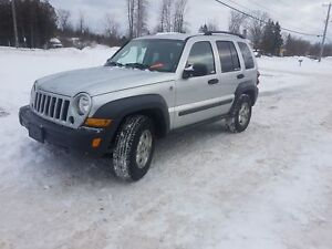 2006 Jeep Liberty 108K 4X4 SAFETIED Sport