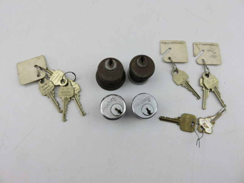 Medeco UL 437 High Security Pin-Tumbler Cylinder Lock and Key Parts