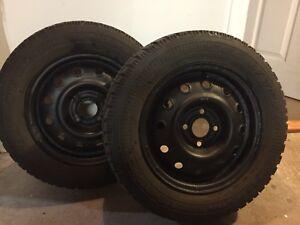 2 Pneus Goodyear Tires