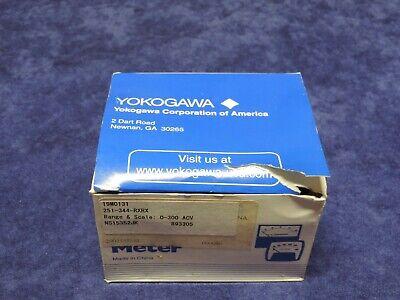 Yokogawa 251-344-rxrx Analog Ac Volts Panel Meter 0-300v