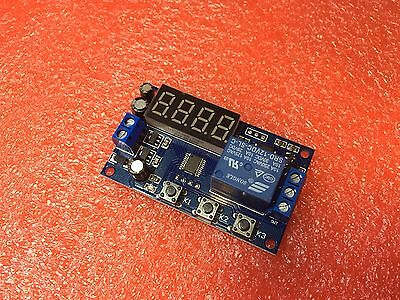 12v Multifunction Delay Time Module Switch Control Relay Cycle Timer