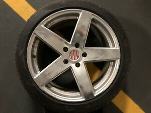 "Qty 4 -20"" Rim/Tires for Porsche Cayennes, Touaregs, Audi Q7s"