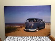 VW Kombi Photo picture on canvas Avoca Beach Gosford Area Preview
