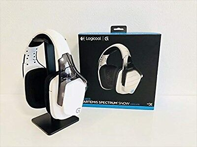 Logicool G933 RGB Wireless 7.1 Surround Gaming Headset Dolby DTS Snow Wh USED