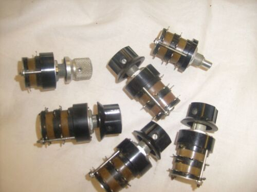 6 lot GRAYHILL  rotary switch  Pots - READ!   x3