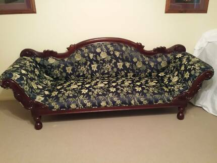 2 Sofas ! 1 Colonial 3 Seater & 1 Victorian Double Ended 3 Seater