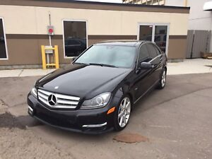 2012 MERCEDES BENZ C350 4Matic SEDAN *Fully loaded* Only $22800!