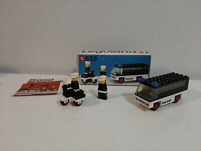Vintage 1970's Lego Legoland Police Patrol with Policeman 659 - 100% Complete